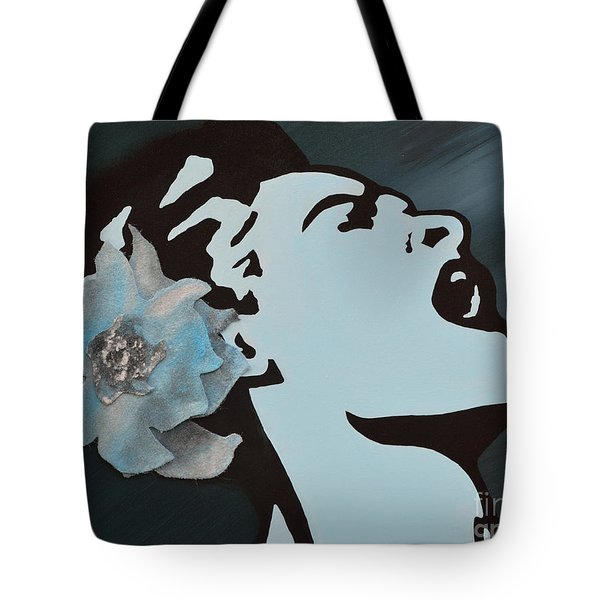 Billie Holiday Tote Bag by Alys Caviness-Gober