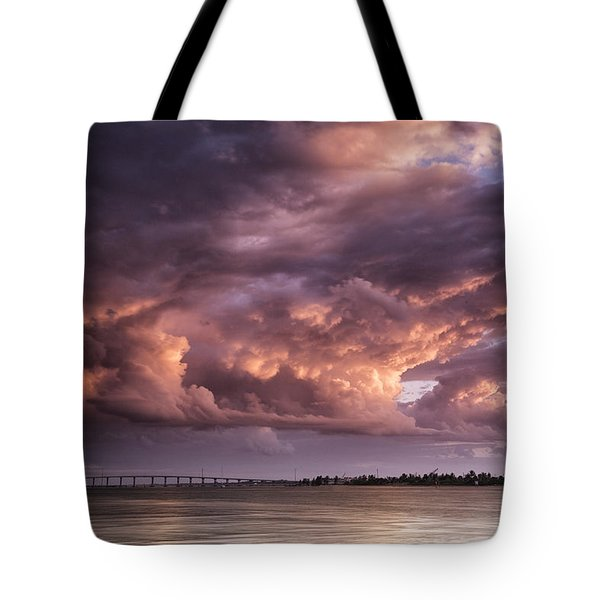 Billowing Clouds Tote Bag