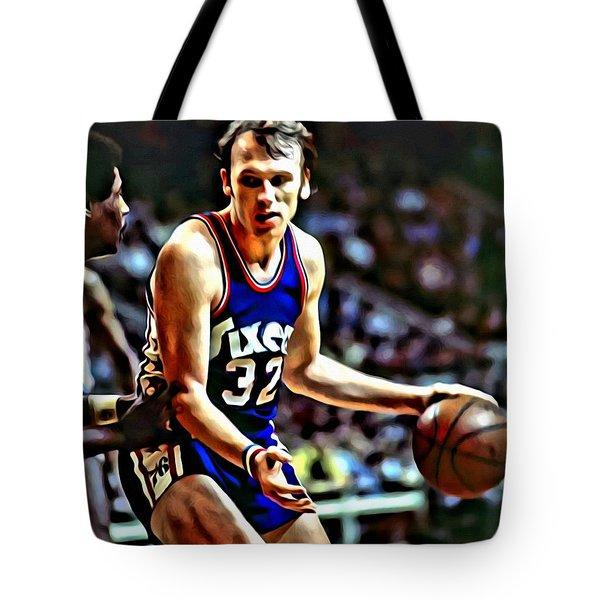 Billy Cunningham Tote Bag by Florian Rodarte