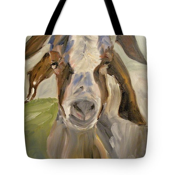 Tote Bag featuring the painting Billy by Donna Tuten