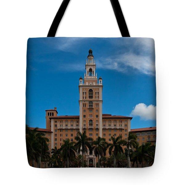 Biltmore Hotel Coral Gables Tote Bag