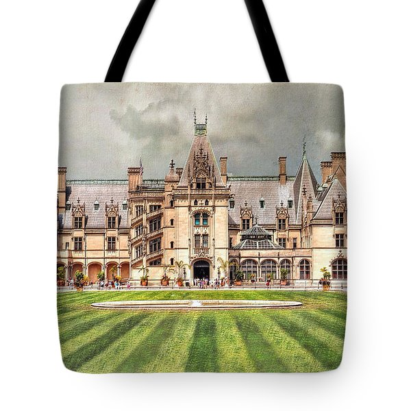 Biltmore House Tote Bag by Savannah Gibbs