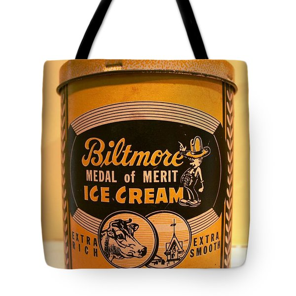 Biltmore Ice Cream Tote Bag