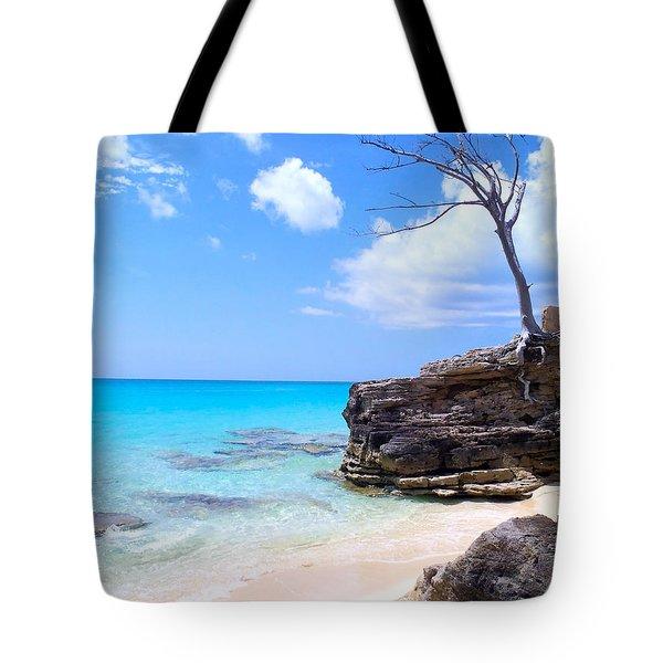 Bimini Beach Tote Bag