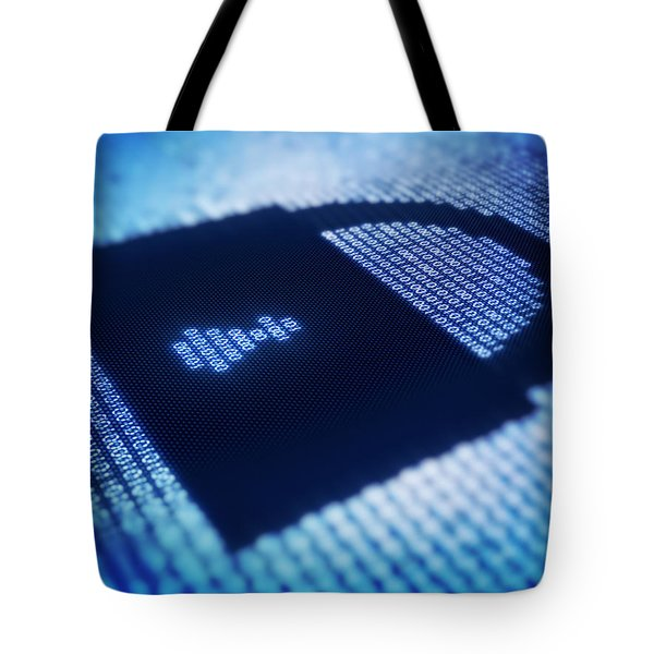 Electronic Data Security Tote Bag