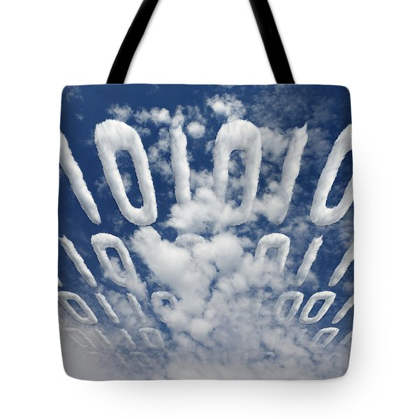 Electronic Information Data Transfer Tote Bag