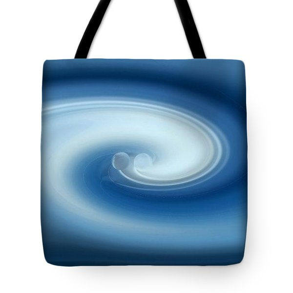 Tote Bag featuring the digital art Binary by rd Erickson