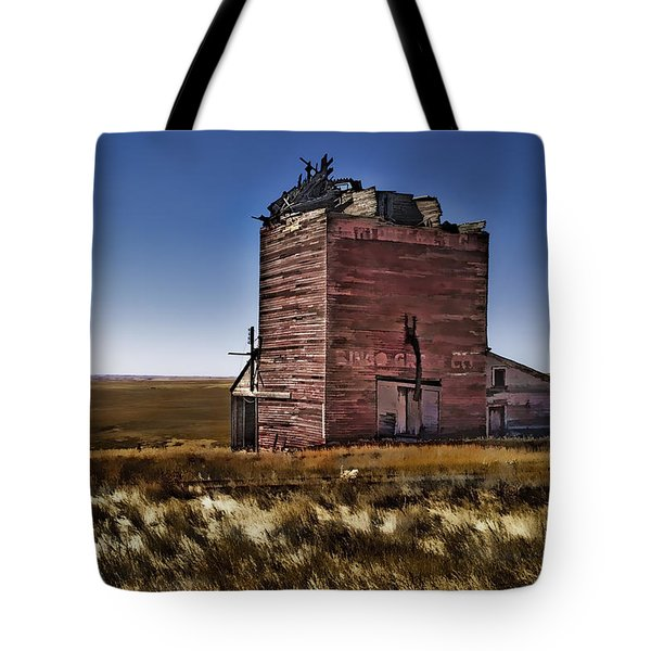 Tote Bag featuring the painting Bingo Grain Co by Muhie Kanawati