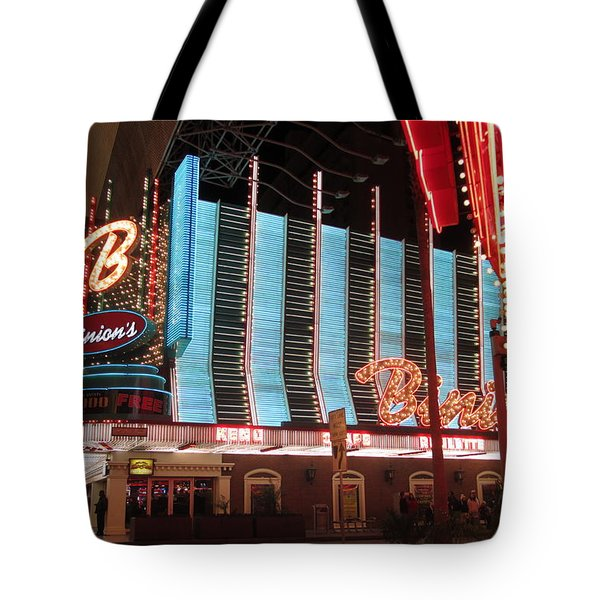 Binions Tote Bag by Kay Novy