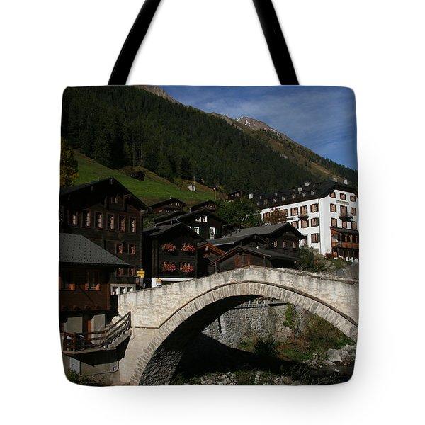 Tote Bag featuring the photograph Binn by Travel Pics