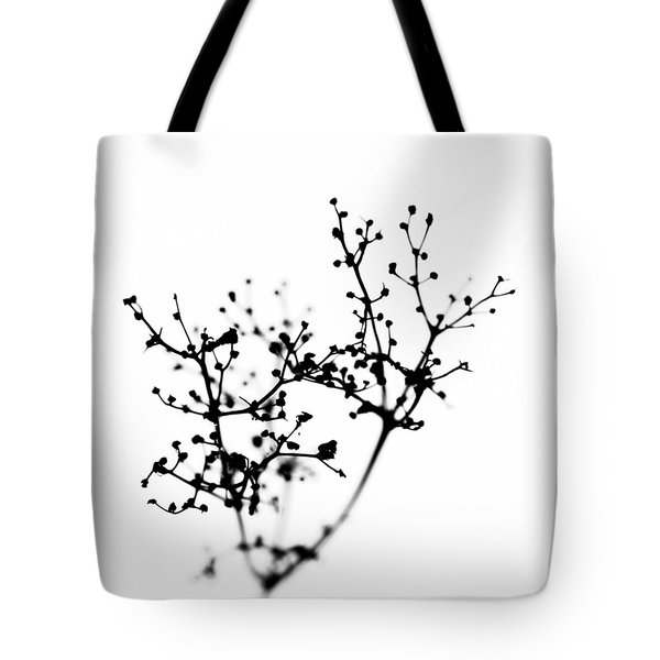 Biochemistry Of Winter 2 Tote Bag by Alexander Senin
