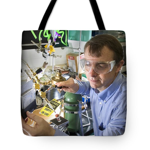 Biology Research Tote Bag