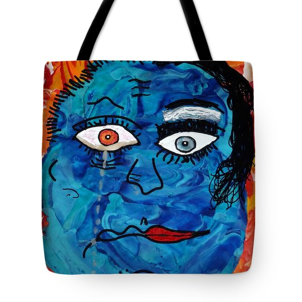 Bipolar Blues Tote Bag