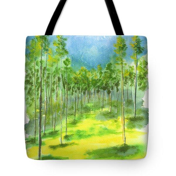 Birch Glen Tote Bag
