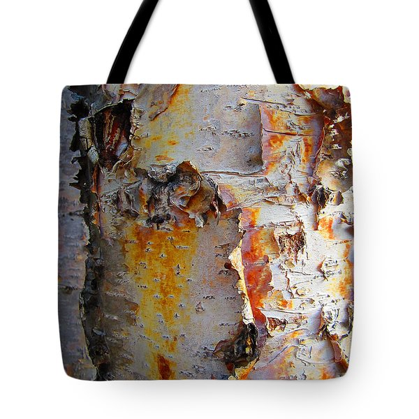 Birch Paper Tote Bag by Heather  Hiland