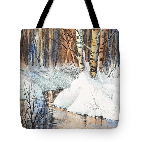 Birch Trio II Tote Bag