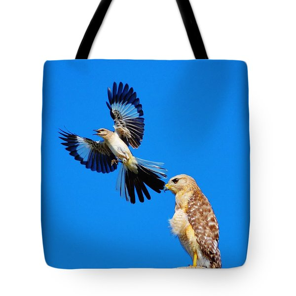 Bird Alert Tote Bag