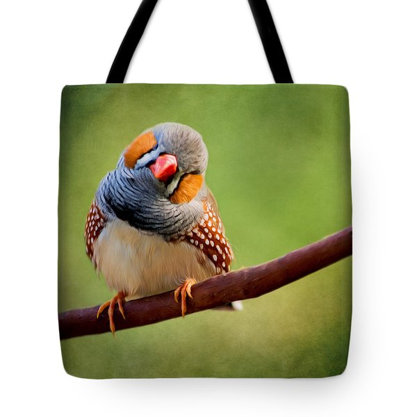 Bird Art - Change Your Opinions Tote Bag