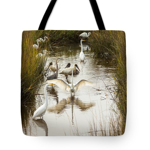 Bird Brunch 2 Tote Bag