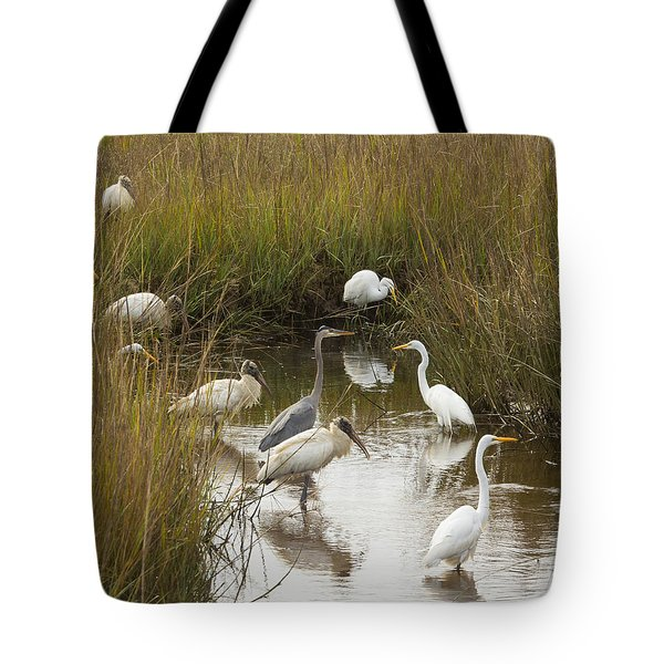 Bird Brunch Tote Bag