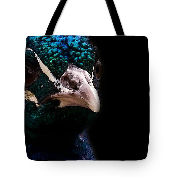 Bird Tote Bag by Christine Sponchia