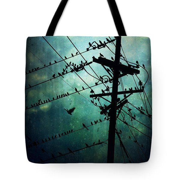 Bird City Tote Bag by Trish Mistric