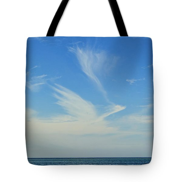 Bird Cloud Tote Bag