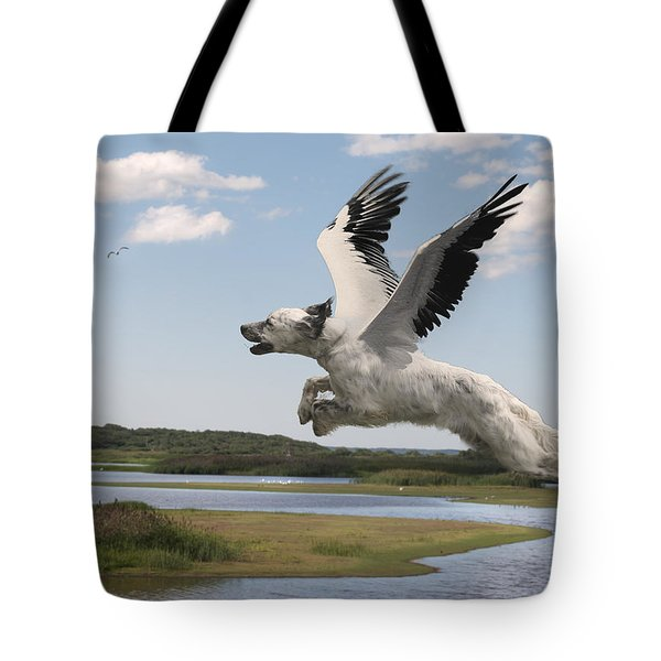 Bird Dog Tote Bag by Rick Mosher