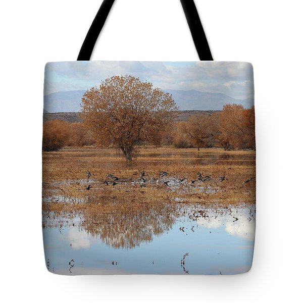 Tote Bag featuring the photograph Bird Heaven by Ruth Jolly