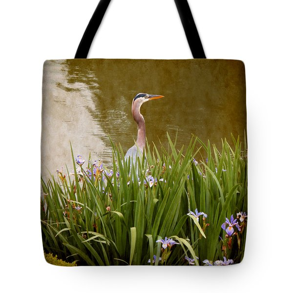 Bird In The Water Tote Bag by Milena Ilieva