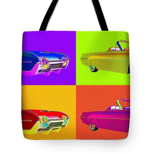 Bird Is The Word Tote Bag by Richard Rizzo