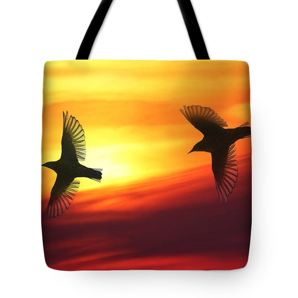Bird Lovers Tote Bag