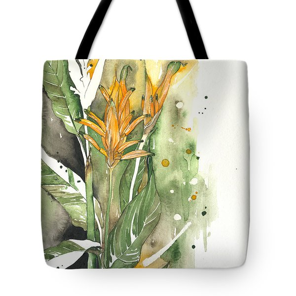 Bird Of Paradise 08 Elena Yakubovich  Tote Bag