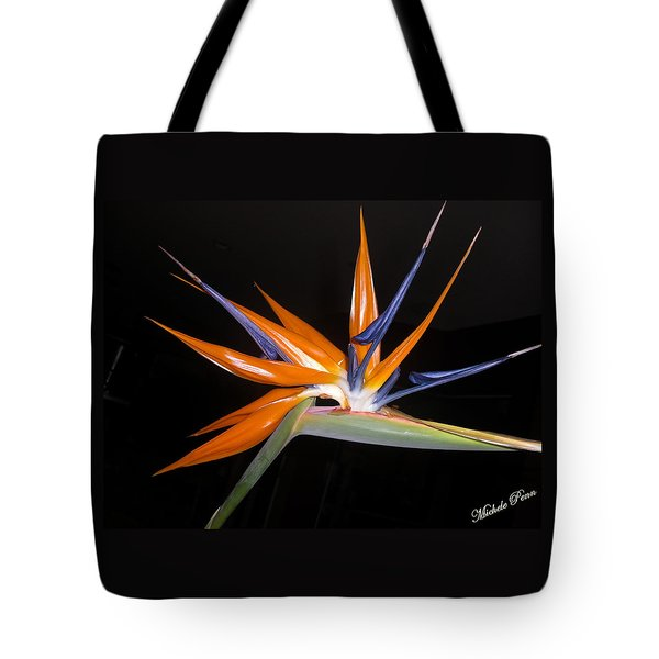 Bird Of Paradise Beauty 4 Tote Bag
