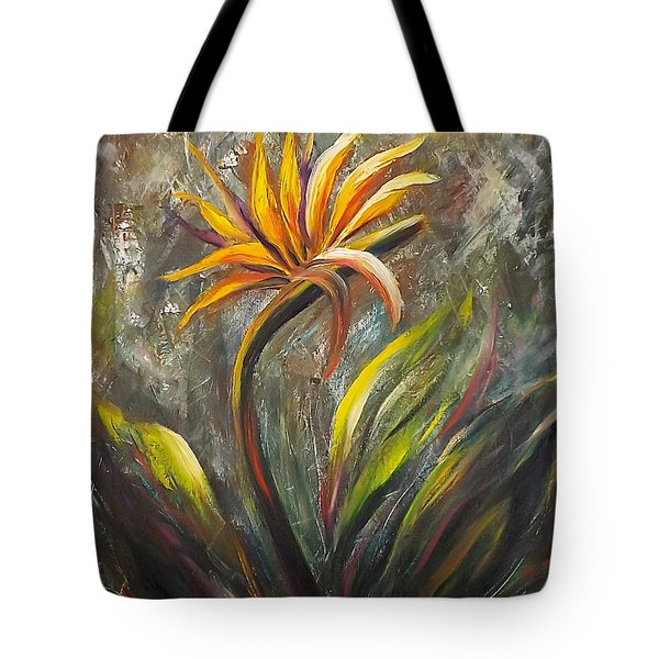 Bird Of Paradise 63 Tote Bag