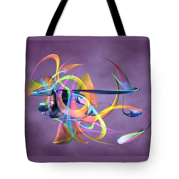 Bird-of-paradise - Abstract Tote Bag