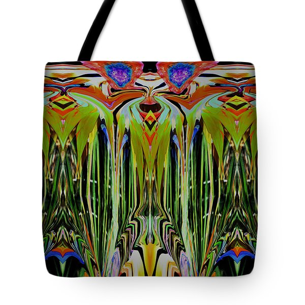 Bird Of Paradise Manipulation 1 Tote Bag