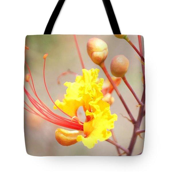 Bird Of Paradise Profile Tote Bag