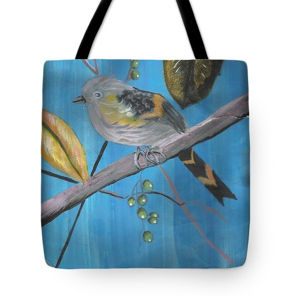 Bird On A Branch  Tote Bag