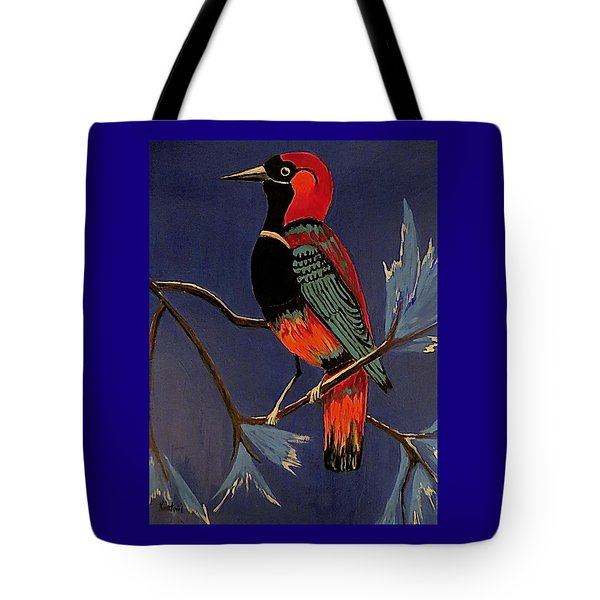 Bird On A Branch Tote Bag by Kathleen Sartoris