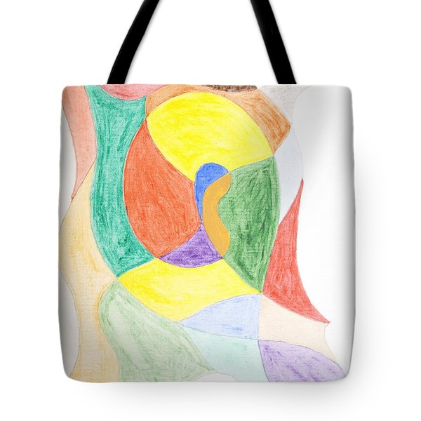 Tote Bag featuring the painting Duck by Stormm Bradshaw