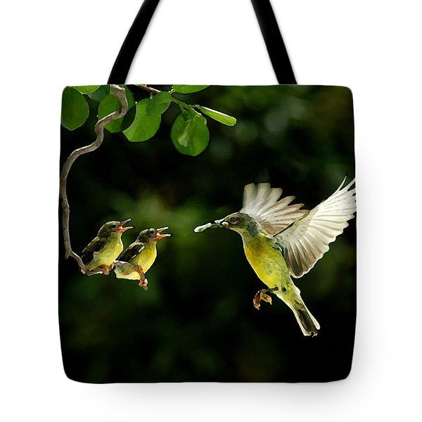 Beautiful Day Tote Bag by Marvin Blaine