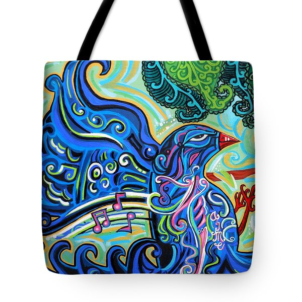 Bird Song 2 Tote Bag by Genevieve Esson
