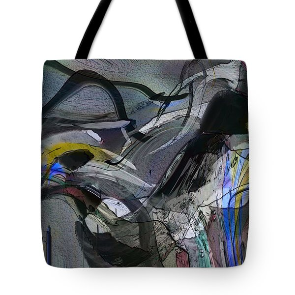 Tote Bag featuring the digital art Bird That Wept With Me by Richard Thomas