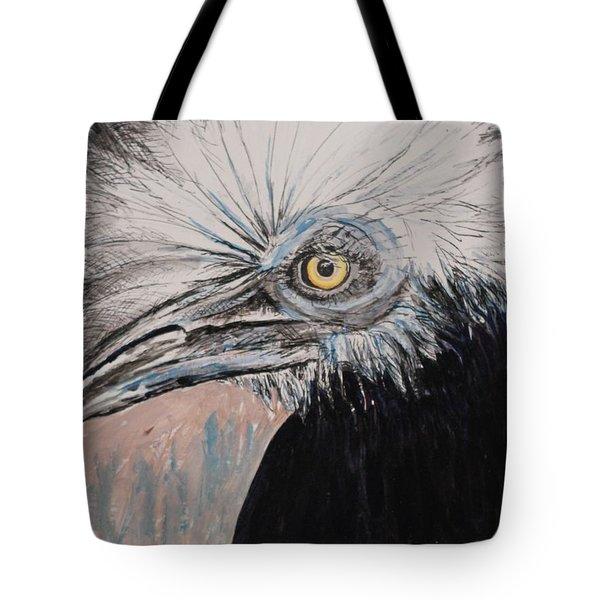 Birdeye Crown Horn Bill Tote Bag