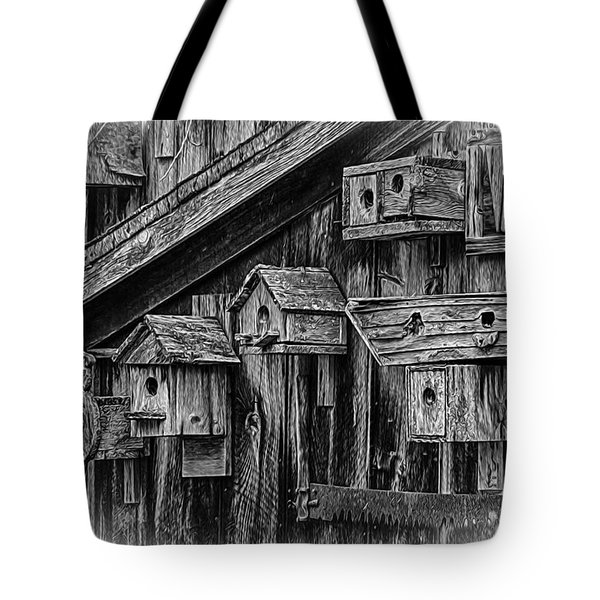 Birdhouse Collection Tote Bag