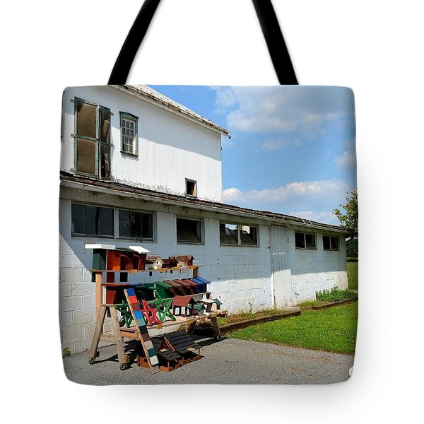 Birdhouses And Feeders For Sale Tote Bag