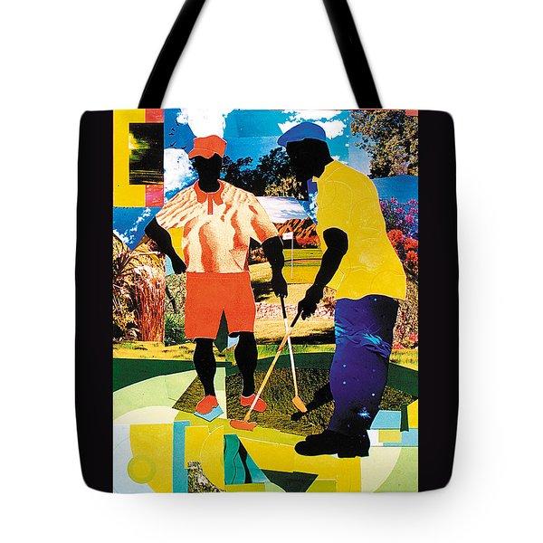 Birdie Putt Tote Bag by Everett Spruill