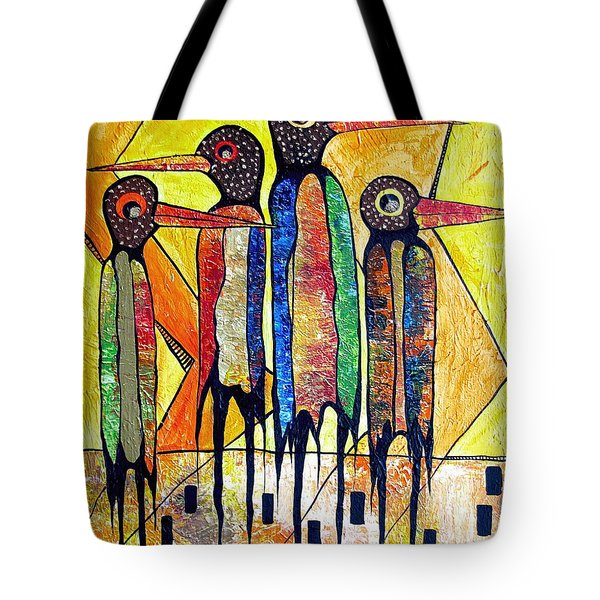 Birds 738 - Marucii Tote Bag