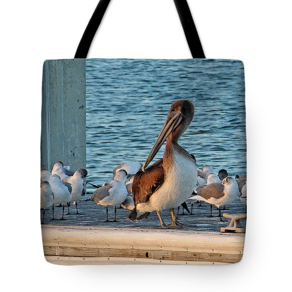 Birds - Among Friends Tote Bag